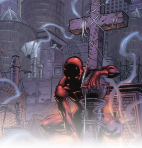 """This is where Daredevil haunts . . ."""