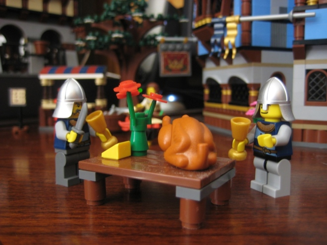 Lego Turkey Dinner